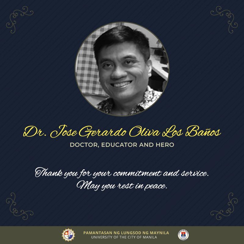 PLM mourns passing of Dr. Los Banos